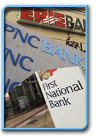 Banking in Erie, Pennsylvania
