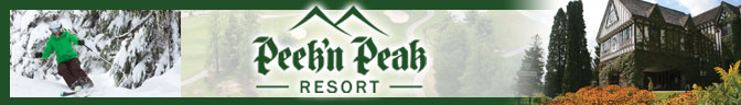 Peek'n Peak Resort  & Spa Banner